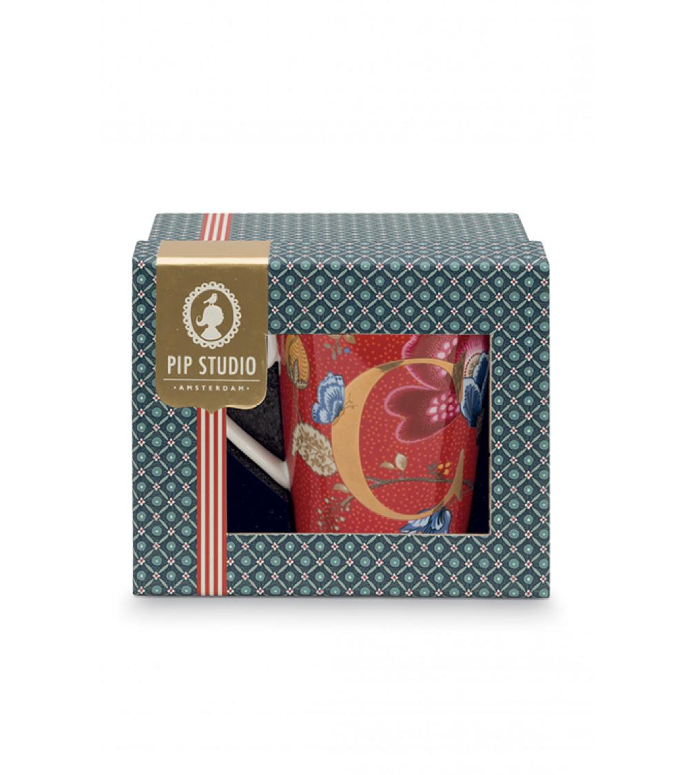 alphabet-mug-blushing-birds-συσκευασία δώρου