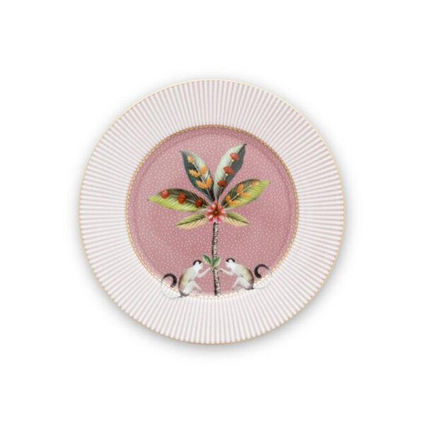 Πιάτο Γλυκού Πορσελάνης Pip Studio La Majorelle Pink 17cm