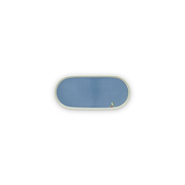 Δισκάκι Πορσελάνης Pip Studio La Majorelle Blue 25x12cm