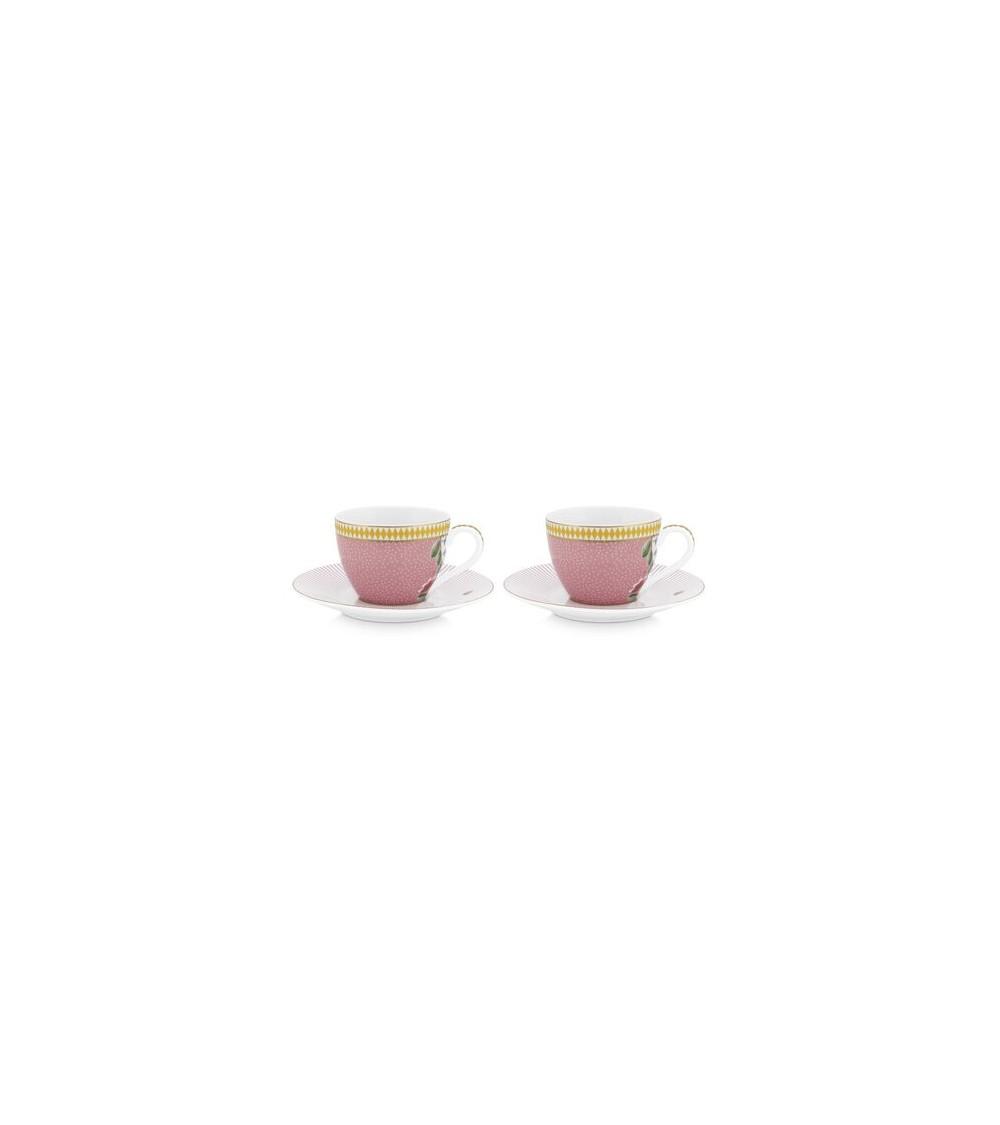 Σετ Φλιτζάνια Espresso Πορσελάνης Pip Studio La Majorelle 120ml