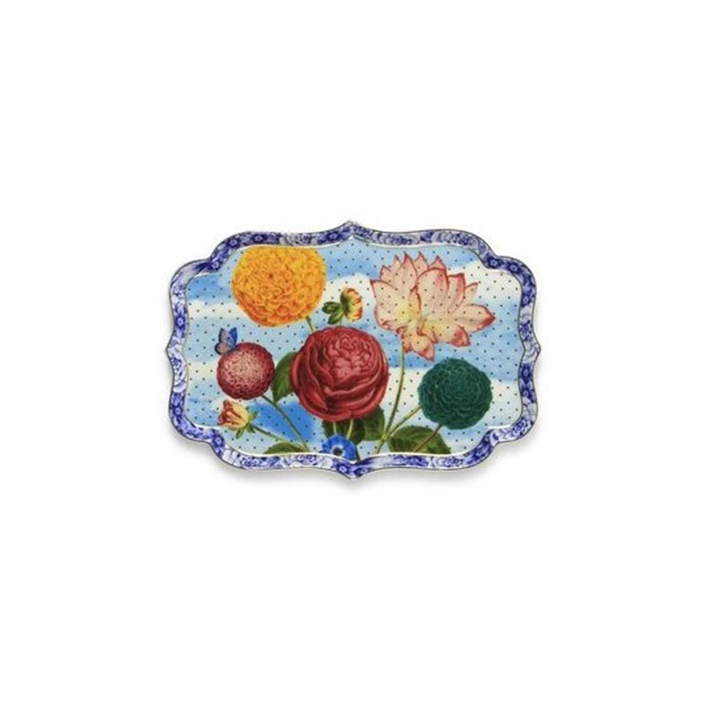 Δίσκος Πορσελάνης  Pip Studio Royal Flowers 26x18cm
