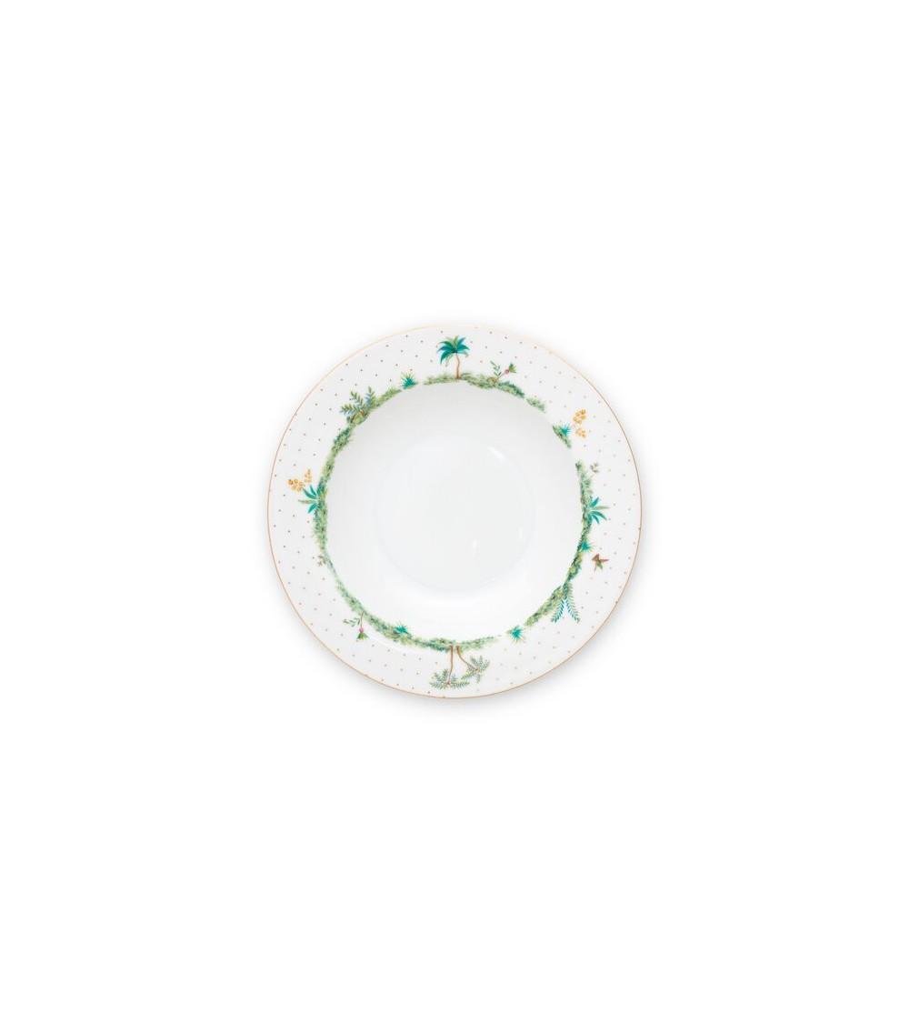 Πιάτο Βαθύ Πορσελάνης Pip Studio Jolie Dots Gold 21,5cm