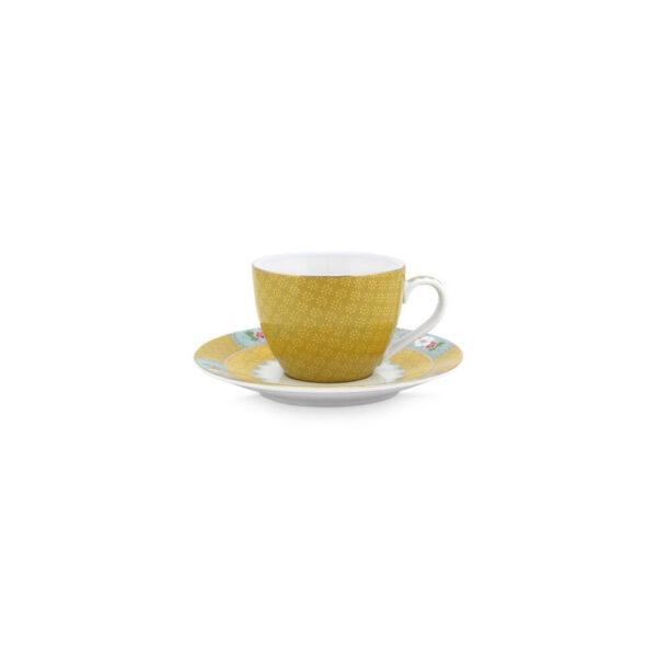 Φλιτζάνι Espresso Pip Studio Blushing Birds yellow 120ml