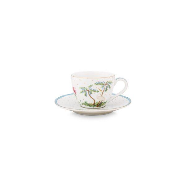 Φλιτζάνι Espresso Πορσελάνης Pip Studio Jolie Dots Gold 120ml