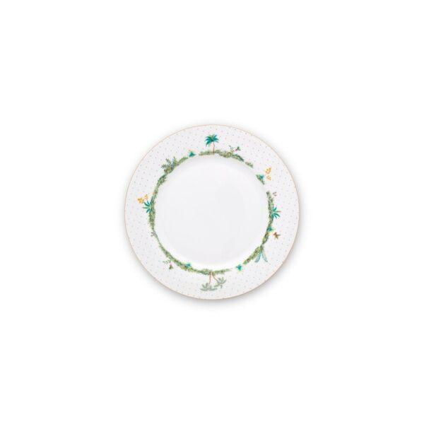 Πιάτο Φαγητού Πορσελάνης Pip Studio Jolie Dots Gold 26,5cm