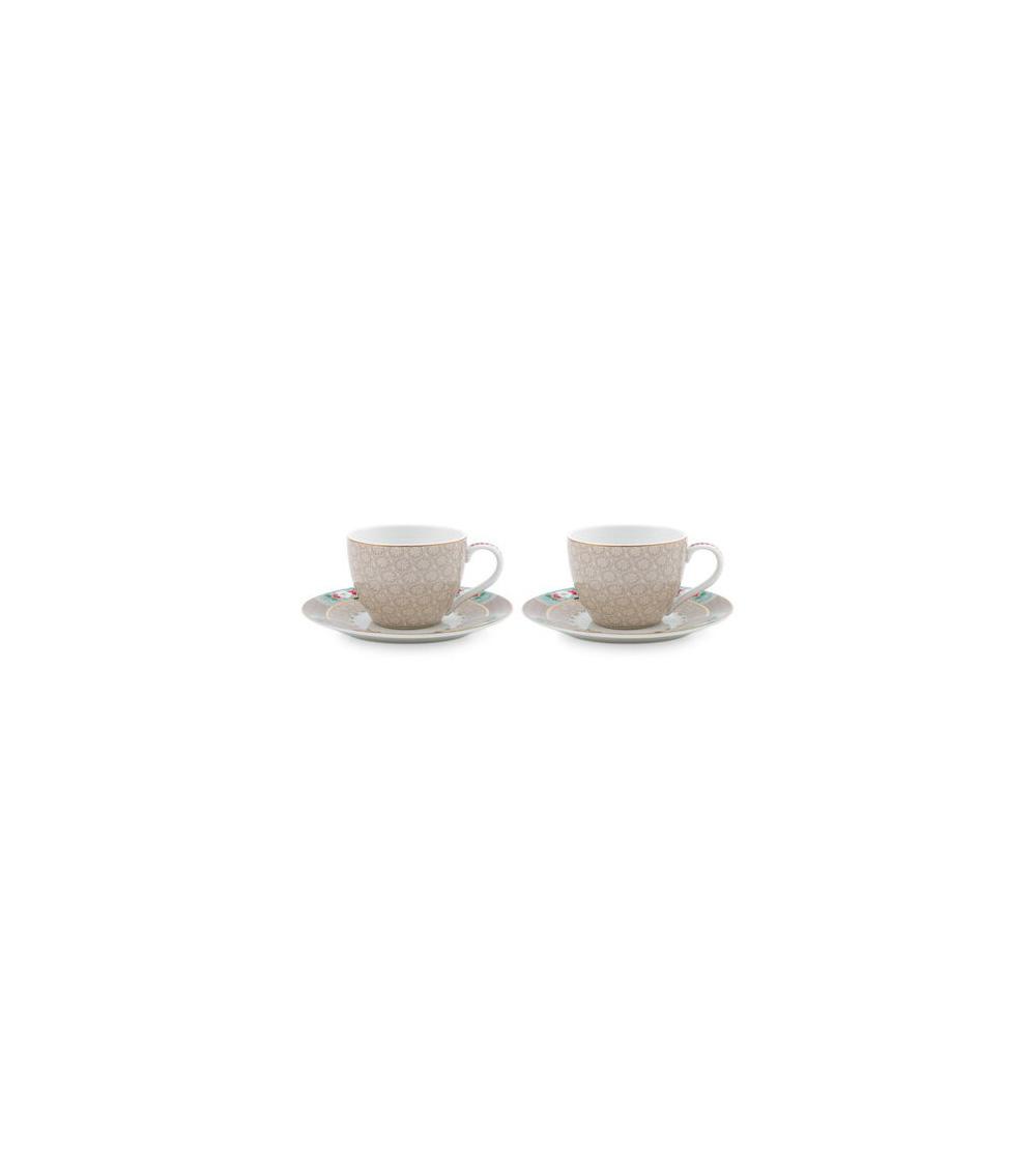 Σετ 2 Φλιτζάνια Espresso Pip Studio Blushing Birds 120 ml