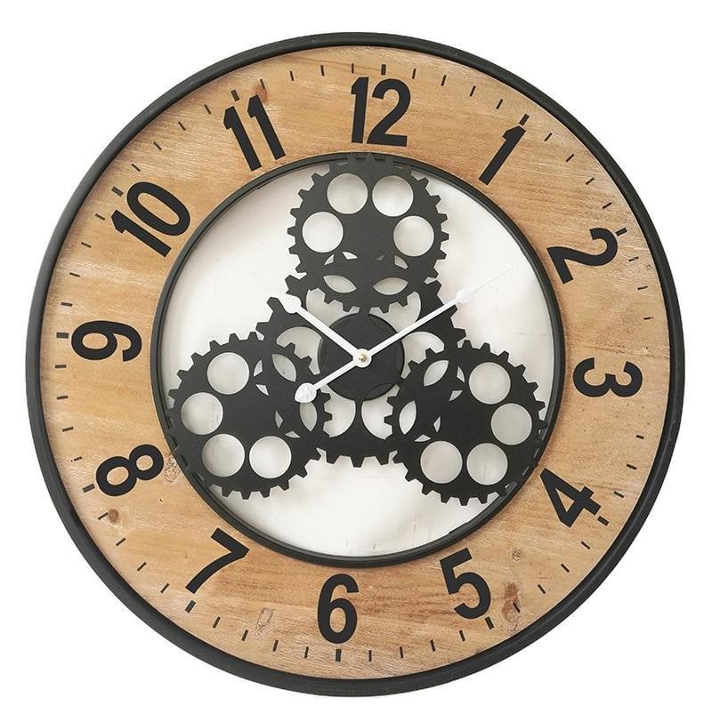 Ρολόι τοίχου Σίδερο-Birch 60x60