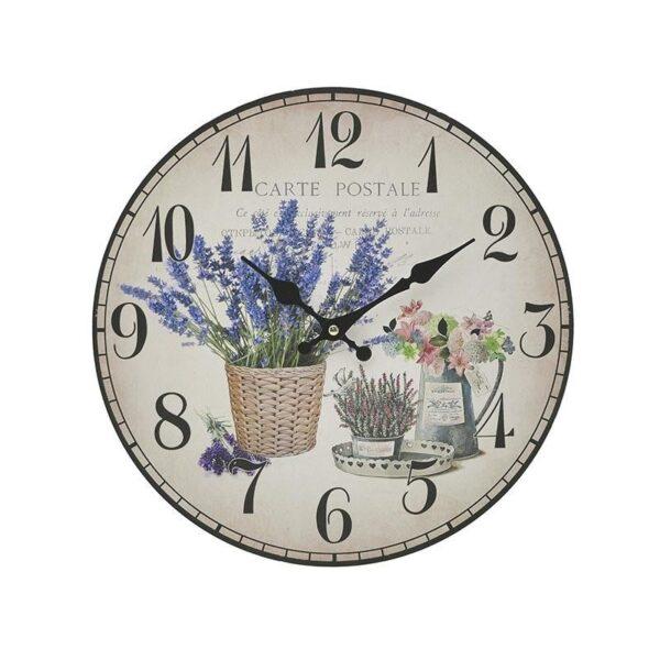 Ρολόι τοίχου MDF 34x34