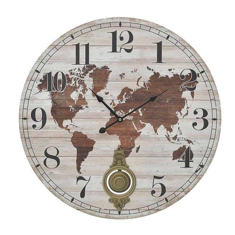 Ρολόι τοίχου MDF 58x58