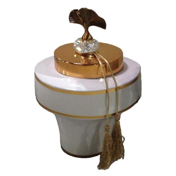 βάζο Λευκό-Ελεφαντόδοντο, Χρυσό